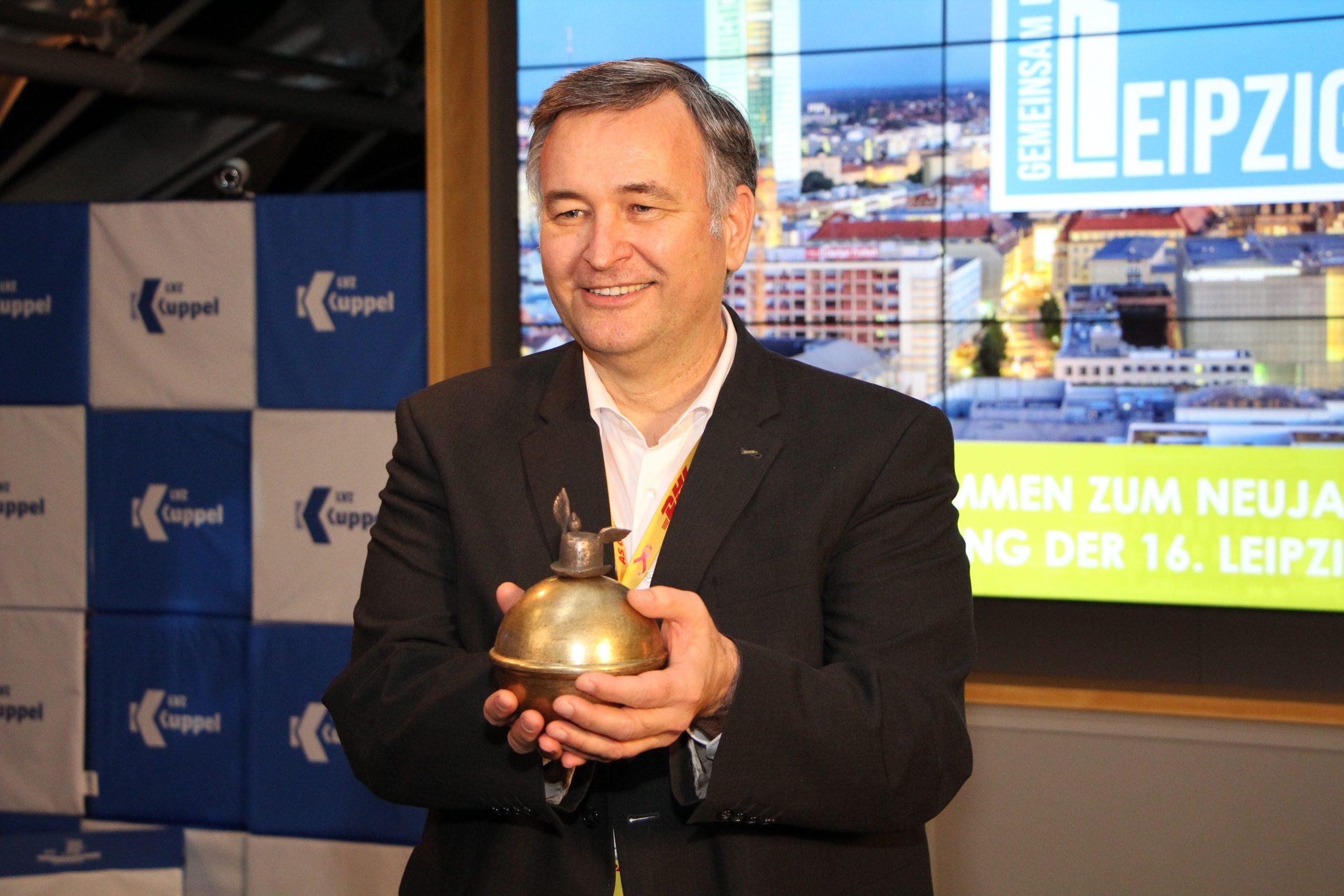 Markus Otto, Vorsitzender der Geschäftsführung des DHL HUB Leipzig